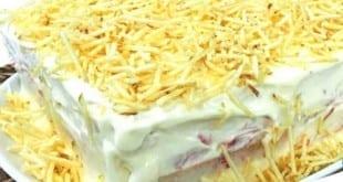 Gastronomia - Receita de Pão gelado de frango com molho