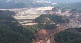 Representantes da Samarco afirma que há riscos de rompimento das represas de Santarém e de Germano