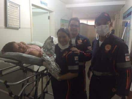 No sábado, 14/11, um bebê nasceu na ambulância, no bairro Delfino Magalhães.