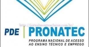 Educação - Unimontes abre 120 vagas para quatro cursos gratuitos do Pronatec; inscrições até 18 de novembro