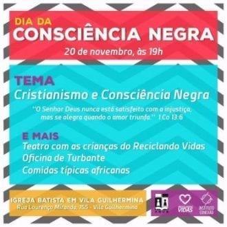 Montes Claros - Dia da Consciência Negra no bairro Vila Guilhermina