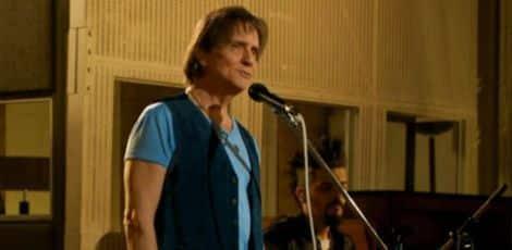 Roberto Carlos no estúdio dos Beatles,em Londres