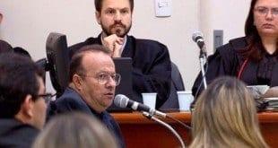 Hugo Pimenta presta depoimento no júri de Norberto Mânica e José Alberto de Castro; empresário também é réu e deve ser julgado em novembro