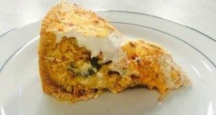 Gastronomia - Receita de Torta de frango com batata e requeijão
