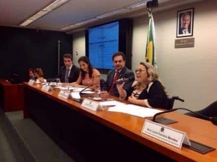 Audiência na Câmara propõe ações para facilitar as denúncias das mulheres com deficiência, vítimas de violência - Foto: Érika Almeida