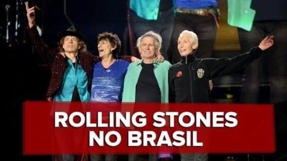 Rolling Stones confirma preço dos ingressos para shows no Brasil