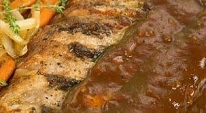 Gastronomia - Receita de Costelinhas de porco ao forno com molho sabor ervas finas