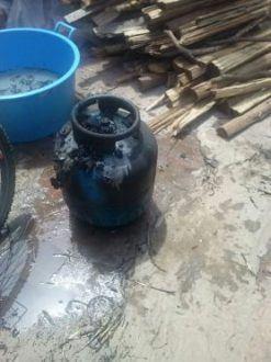 Montes Claros - Casa de idosa de 92 anos pega fogo no Monte Carmelo