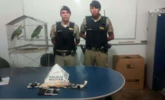 Montes Claros - Polícia Militar prende um homem que estava assaltando comerciantes no bairro Major Prates
