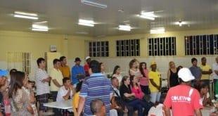 Montes Claros - Moradores em situação de rua participam de confraternização no Restaurante Popular
