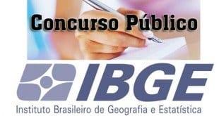 Concursos - IBGE abre concurso público