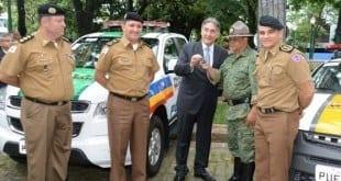 MG - Governador de Minas Gerais entrega viaturas para a Polícia Militar