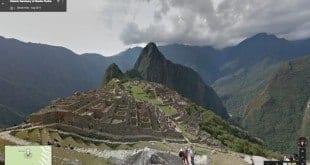 Machu Pichu agora já pode ser visto pelo Google Street View
