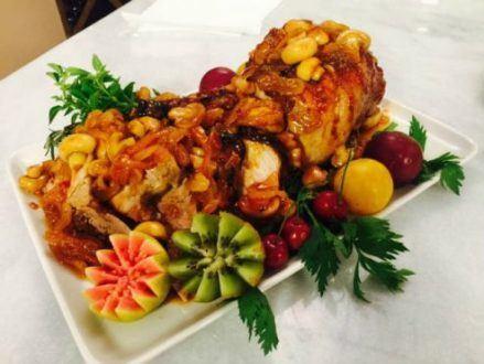 Gastronomia - Receita de Pernil no champagne com geleia de pimenta