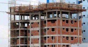 Construção civil suprime mais de 500 mil empregos em 12 meses