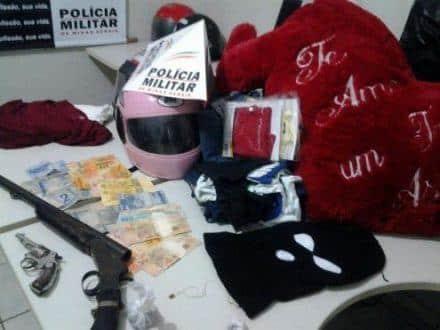 Norte de Minas - PM preende 4 homems por formação de quadrilha em Jaíba