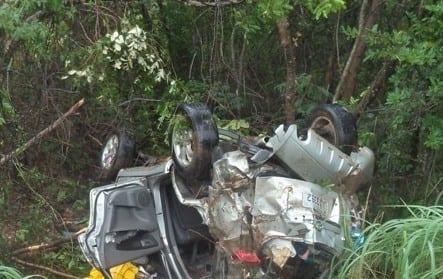 Norte de Minas - Grave acidente deixa uma pessoa morta e outras quatro feridas em Claros dos Poções