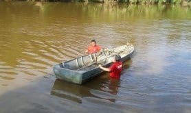 MG - Bombeiros resgatam corpos de irmãos que se afogaram no rio das Velhas