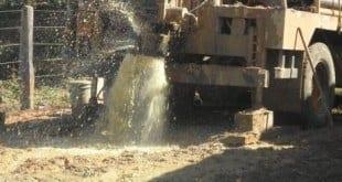 Norte de Minas - Governo Estadual inicia as obras de perfuração de poços na região afetada pela seca