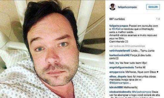 Felipeh relaciona sua passagem pelo Recife à sua infecção por zika vírus e paralisia facial