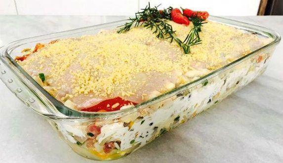 Gastronomia - Receita de Arroz de Forno com molho de tomate