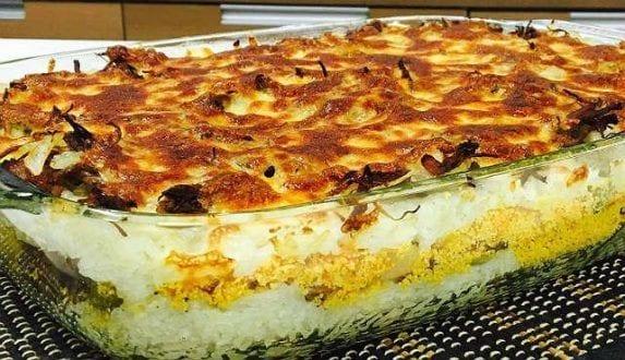 Gastronomia - Receita de Arroz recheado com farofa