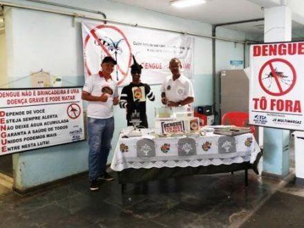 Montes Claros - Santa Casa de Montes Claros na luta contra o Aedes Aegypti