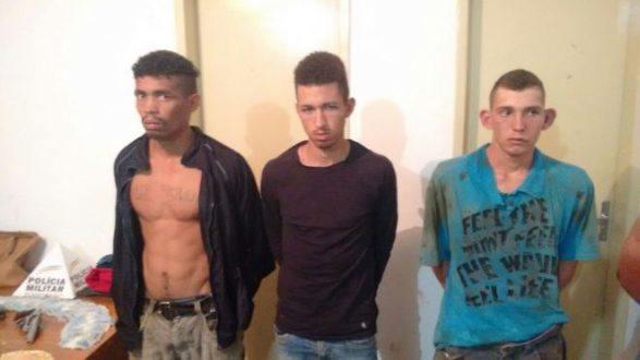 Montes Claros - PM prende homens que invadiram e fizeram de refém um casal de empresários no bairro Esplanada