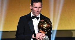 Bola de Ouro - Lionel Messi é eleito o melhor do mundo pela quinta vez