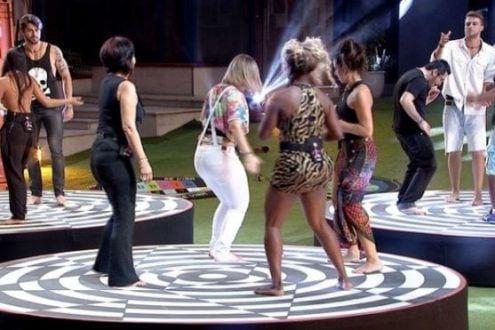 """Participantes do """"BBB16"""" precisam resistir na pista de dança na primeira prova do líder"""