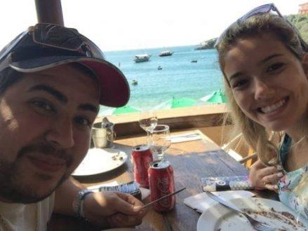 As vítimas, Igor e Rafaela, se casaram em setembro de 2015