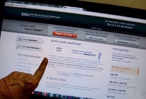 Nesta edição, são ofertadas 228 mil vagas em 131 instituições públicas de educação superior