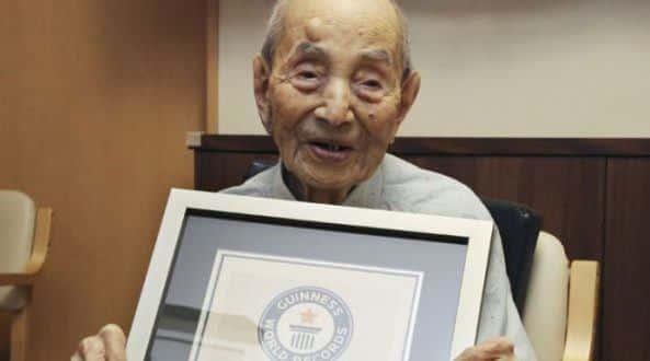 Ele recebeu certificado do Guinness, em agosto de 2015