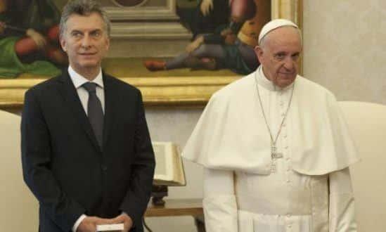 Papa Francisco e o presidente da Argentina falam de pobreza, drogas e reconciliação nacional