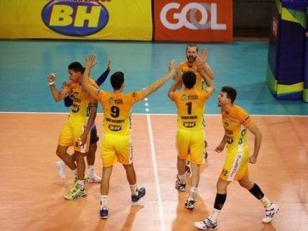 Vôlei - Montes Claros Vôlei conquista vitória contra o Sada Cruzeiro