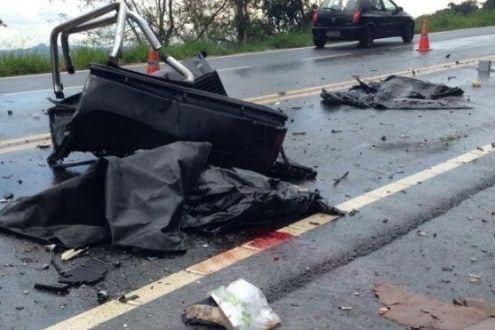 MG - Duas idosas e um adolescente morrem em acidente