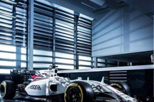 Williams apresentou o modelo FW38 para a temporada 2016