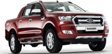 A Ford lançou a nova Ranger inicialmente apenas com motores a diesel