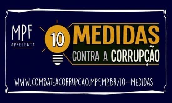 """Campanha """"10 medidas contra a corrupção"""" convoca cidadãos para a entrega de assinaturas  no próximo dia 29"""