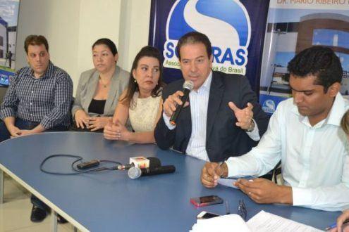 Durante a entrevista, o prefeito Ruy Muniz explicou que o pagamento foi efetuado ontem mesmo, em uma conta judicial.
