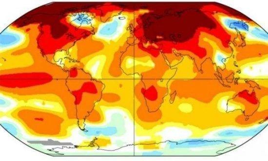 O maior aumento já registrado havia sido em janeiro, com 1,14º C, durante este mesmo período em 30 anos