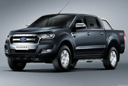 Motor - Ford apresenta picape Ranger 2017 com visual modificado