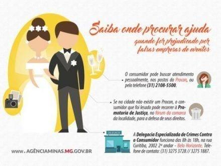 MG - Dicas ajudam na prevenção contra golpes de empresas de eventos