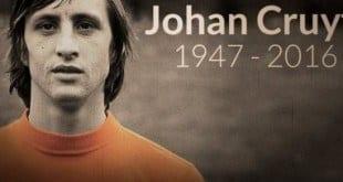 Ex-jogador e treinador holandês morreu nesta quinta-feira, aos 68 anos, vitima de um câncer no pulmão.