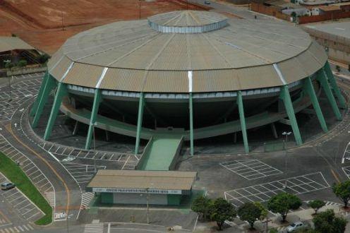 Montes Claros - Poliesportivo Tancredo Neves em obras para receber partidas internacionais