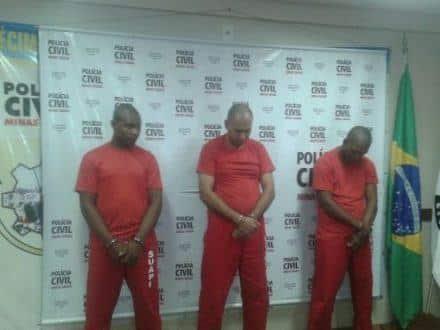 Norte de Minas - Trio suspeito de homicídio é preso em Manga