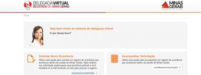 MG - Delegacia Virtual completa dois anos com mais de 360 mil ocorrências registradas em Minas