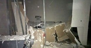 MG - Bandidos explodem caixas de dois bancos em Caraí