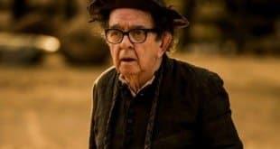 """Ator Umberto Magnani, de 75 anos, interpretava o padre Romão na novela """"Velho Chico"""""""