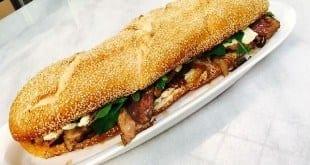 Gastronomia - Sanduíche gourmet de picanha